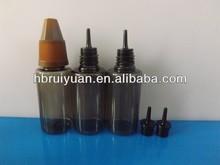 black 10ml PET bottle with sharp childproof cap