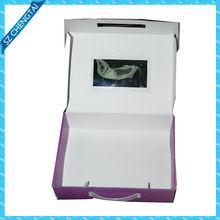 hand crank paper music box