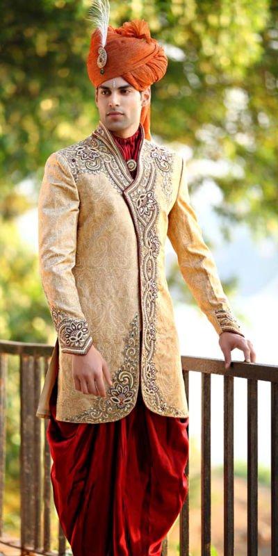wedding groom sherwani