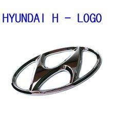 100% Genuine BrandNew H- Logo Front & Trunk Emblem (Fits Hyundai Vehicle)
