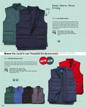 Versatile Bodywarmers - Functional Outdoor Windproof Breathable Weather Protection Clothing