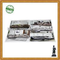 design you own furniture catalog / CMYK catalogue printing
