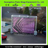 clear curtain transparant led screen curtain