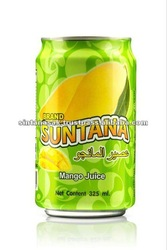 SUNTANA Natural Concentrate Canned Mango Fruit juice