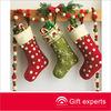 Top quality custom christmas stocking ornament