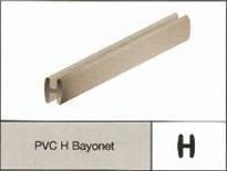PVC H Bayonet Profile