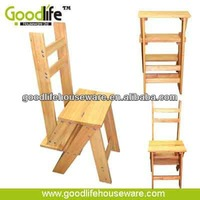 small folding stool made of solid wood wholesale from china
