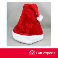 Cheap adult fashion promotional christmas hats