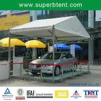 Convenient simple installation small car show canopy,aluminum car canopy