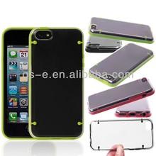 Ultra-Slim glow in the dark luminous plastic hard back case for iphone 5C