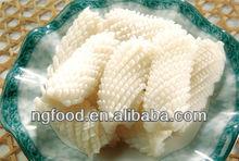 frozen squid pineapple cut fresh