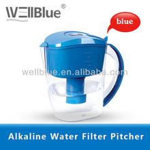 Jarro de água de plástico deixar você bebe água Kangen