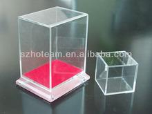 clear acrylic toy model display box