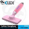 Rotate head rubber pin pet massage brush with eco-friendly gel handle, dog massage brush, pet brush