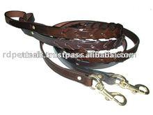 Leather Pet Leashes & Lead