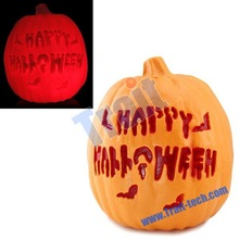 Happy Halloween Hollow Out Pumpkin LED Night Light for Halloween Decoration Halloween Light