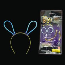 REACH approval 8 inch glow stick bunny ears(ROSH,CE,EN71)