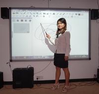 quartet whiteboard magnet for school
