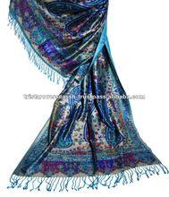 Silk Printed Scarves, Printed Silk viscose Shawls ,Silk Viscose Printed Shawl
