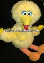 soft Yellow BIG BIRD Sesame Street toys Stuffed Animal Plush made in china
