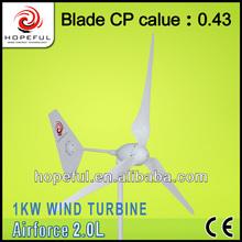 48v wind turbine motors small wind turbine for home uses 1KW