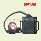 LED corded industrial mining cap lamp, portable helmet light