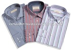 2012 New fashion men's dress shirt stripes design
