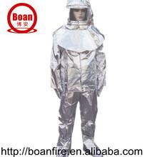 aluminized fire proximity suit