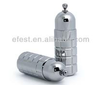 stainless steel 20ml eliquid bottle /dropping stainless bottle For Plastic e liquic bottle