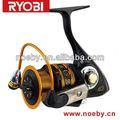 ryobi completa mrtal carretel com fibra de carbono thrck de braço fiança de fibra de carbono varas de pesca e bobinas
