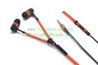 Braided Cable Earphone/New Earphone/Zipper Earphone