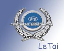 wholesale Hyundai Motor car brand metal carpet emblem