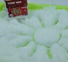 Sunshine draw with instant snow for Christmas tree/x'mas deco