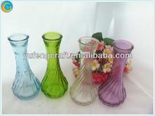 muslim home decoration,krosno glass,wholesale purple glass vases