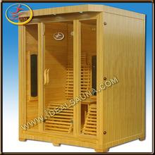 red cedar far infrared sauna & log cabin