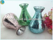 antique home decoration items,small round glass vases,vase decoration