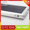 Top hot sale solar gadgets portable solar battery bank&solar power bank 2600mah