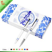 China Ceramic pen Souvenir ceramic ball pen gift for girl