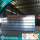 pre galvanized steel hollow sections made in china