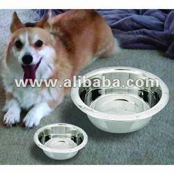 Embossed standard pet bowl