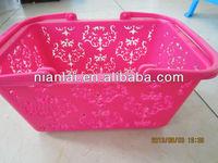 2013 Plastic Basket/ Fruit vegetable Basket/laundry basket Shanghai