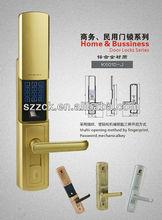 zinc alloy electronic password lock PIN code digital fingerprint lock