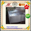 galvanized corrugated steel tile / flat roof tiles / gi sheet with good reputation