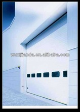 industrial sectional panel door with side bolt