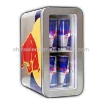 12L mini slim cooler/Redbull refrigerator/Pepsi cooler/small cuntertop display refrigerator showcase,CE/ETL-BR12-1