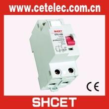 2 Poles MCB MCCB Circuit Breaker RCCB Earth Leakage