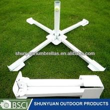 outdoor beach/garden umbrella bases Folding/portable base patio umbrella base
