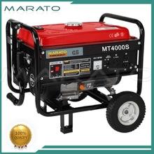 Hot style mini 5000w small dc gasoline generator