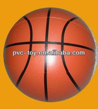 pvc inflatable basketball ball for slae