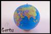 pvc inflatable balls,globe beach ball